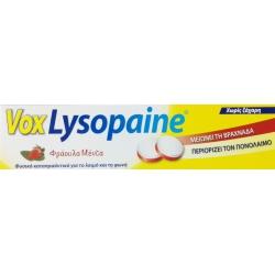 Boehringer Ingelheim Vox Lysopaine Φράουλα Μέντα 18παστίλιες