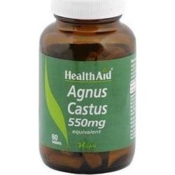 Health Aid Agnus Castus 550mg 60 ταμπλέτες