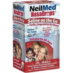 NeilMed NasaDrops 15 Αμπούλες των 15ml