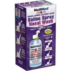 NeilMed Nasa Mist Saline Spray All In One Nasal Wash 177ml