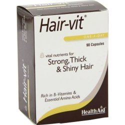 Health Aid Hair-Vit 90 caps