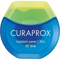 Curaprox DF 846 Οδοντικό νήμα για εμφυτεύματα Implant Saver 30m