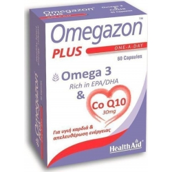 Health Aid Omegazon Plus 60 κάψουλες