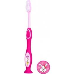 Chicco Παιδική Οδοντόβουρτσα Ροζ 3-6 ετών 1tem