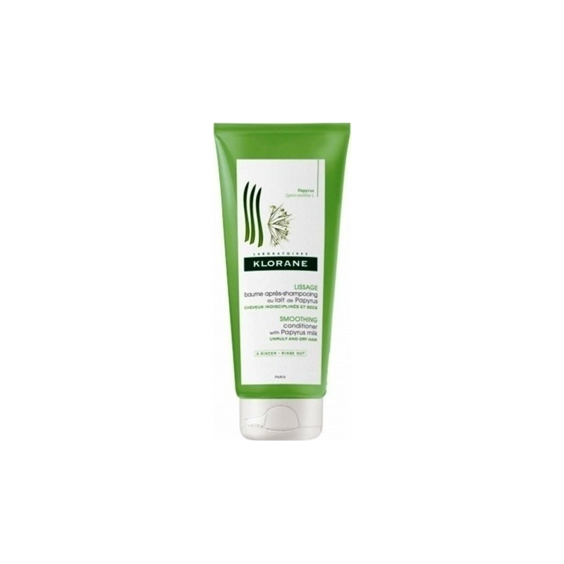 Klorane Smoothing Conditioner with Papyrus Milk 200ml