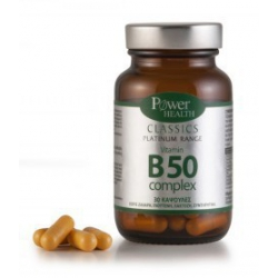 Power Health Classics Platinum Range Vitamin B50 Complex 30 κάψουλες