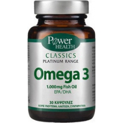 Power Health Classics Platinum Omega 3 1000mg 30 κάψουλες