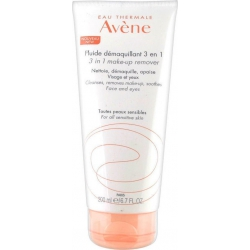 Avene Fluide Demaquillant 3 in 1 Γαλάκτωμα Καθαρισμού και Ντεμακιγιάζ 200ml