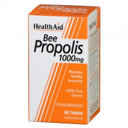 Health Aid Bee Propolis 1000mg 60 ταμπλέτες