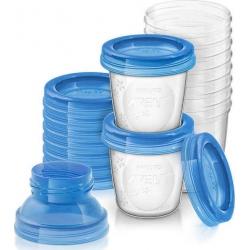 Philips Avent Δοχεία Αποθήκευσης Μητρικού Γάλακτος SCF618 180ml 22tem