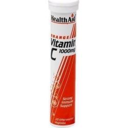 HealthAid Vitamin C 1000mg Orange 20s