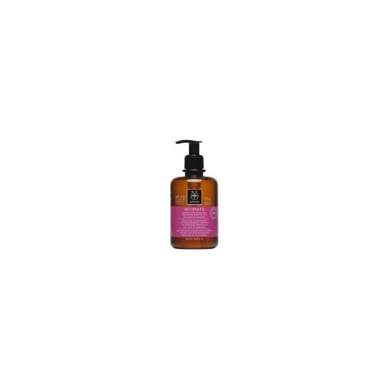 Apivita Intimate Plus Απαλό Gel Καθαρισμού για την Ευαίσθητη Περιοχή για Επιπλέον Προστασία 200ml