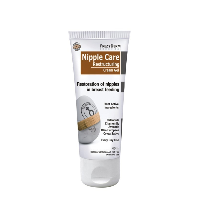 Frezyderm Nipple Care Restructuring Cream Gel 40ml & Δώρο Επιπλέον Ποσότητα 30ml