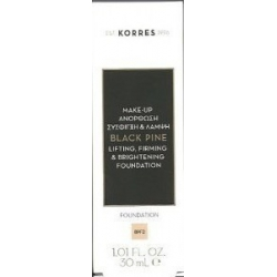 Korres Black Pine Lifting, Firming & Brightening Foundation BPF3 30ml