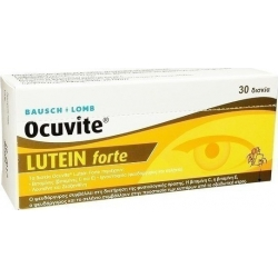 Bausch & Lomb Ocuvite Lutein Forte 30 ταμπλέτες