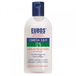 Eubos Omega 3-6-9 12% Hydro Active Lotion Defensil 200ml