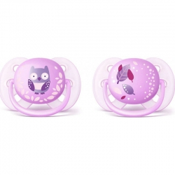 Philips Avent Ultra Soft Pacifier SCF227/22 0-6m 2 τμχ