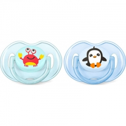 Philips Avent Classic Pacifiers SCF169/35 0-6m 2 τμχ