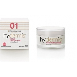 Pharmadermics Laboratories Hydermis 01 Moisturising Cream Anti-Oxidant 50ml