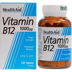 Healthaid Vitamin B12 1000μg 100 tabs