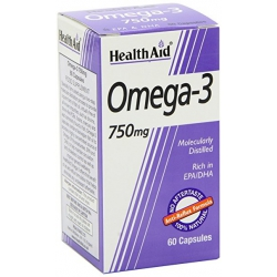 HEALTH AID Omega3 750MG 30CAPS.