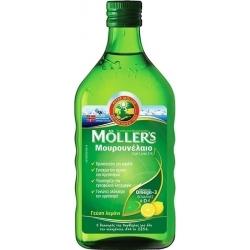Moller's Cod Liver Oil 250ml Λεμόνι