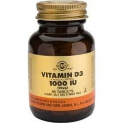 Solgar Vitamin D3 1000iu 90 TAB