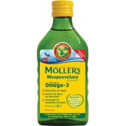 Moller's Cod Liver Oil 250ml Natural
