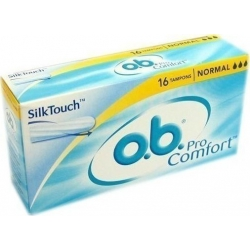 O.B. ProComfort SilkTouch Normal 16τμχ