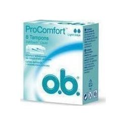 O.B. Pro Comfort Light Days Curved Grooves 8 τμχ