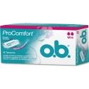 O.B. ProComfort SilkTouch Mini 16 τμχ