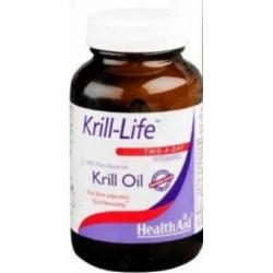 Health Aid Krill-Life 500mg 90 κάψουλες