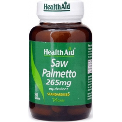 Health Aid Saw Palmetto 265mg 30 ταμπλέτες