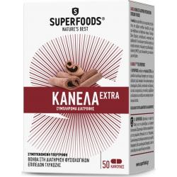 Superfoods Κανέλα Extra EUBIAS 50 κάψουλες