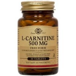 Solgar L-Carnitine 500mg 30 ταμπλέτες