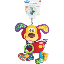 Playgro Καρότσι Activity Friend Pooky Puppy 0μ