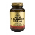 Solgar L-Carnitine 500mg tablets