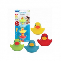 PLAYGRO BRIGHT BABY DUCKIES 4tem