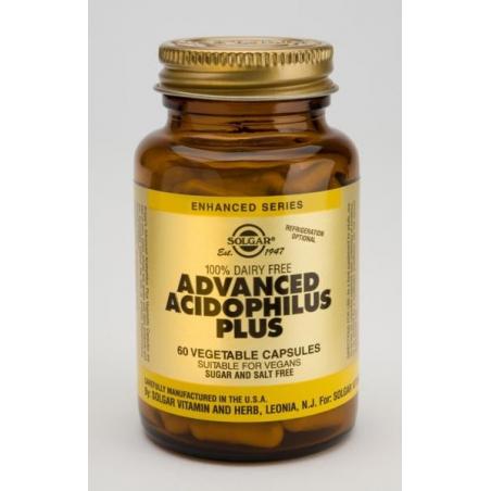 Solgar Advanced Acidophilus Plus 60 κάψουλες
