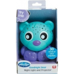 Playgro Goodnight Bear Night Light and Projector  1τεμ