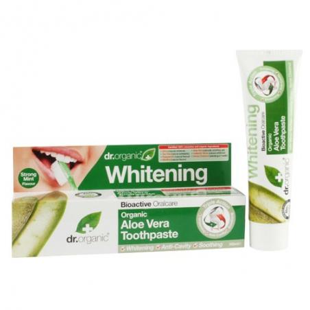 Dr. Organic Aloe Vera Whitening  Toothpaste 100ml