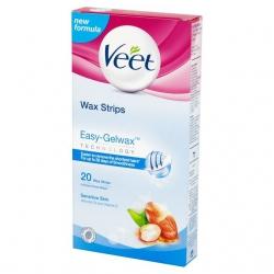 Veet Easy-Gelwax Αποτριχωτικές Ταινίες 20Ταινίες