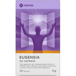 Agan Eusensia No Depress 30 φυτικές κάψουλες.