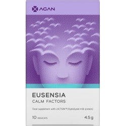 Agan Eusensia Calm Factors 10 φυτικές κάψουλες.