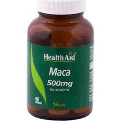 Health Aid Maca 500mg 60 κάψουλες
