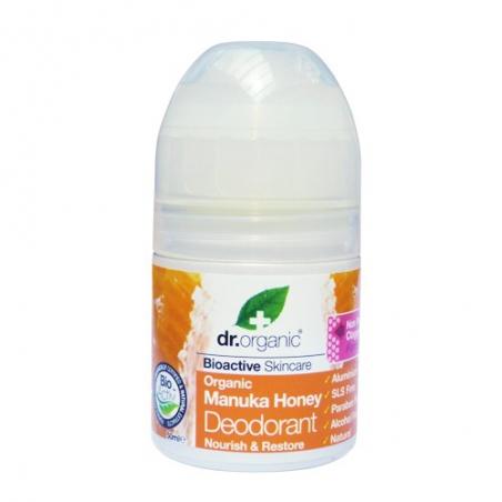 Dr. Organic Manuka Honey Deodorant 50ml