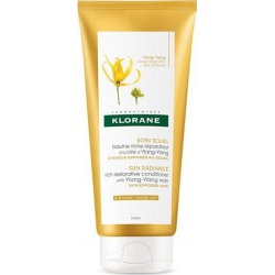 Klorane Sun Radiance Rich Restorative Conditioner Ylang Ylang Wax 200ml