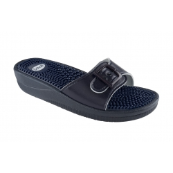 Scholl New Massage Navy Blue