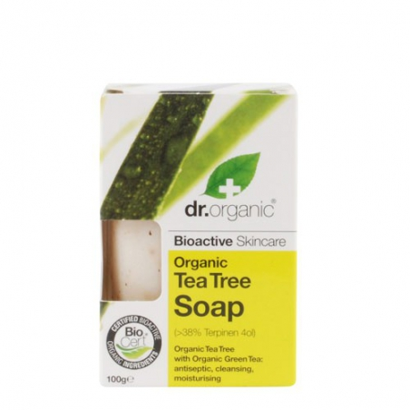 Dr. Organic Tea Tree Soap 100gr