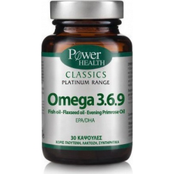 Power Health Classics Platinum Omega 3.6.9 30 κάψουλες